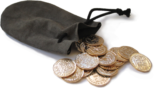 Before Presenting Indy With The Diamond Lao Che Attempts To Nurhache S Remains This Bag Of Gold Coins These Plated Metal Are Cast From