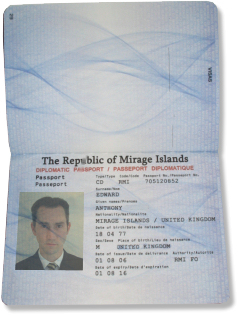 Micronational Passport