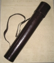 Leather Declaration Tube
