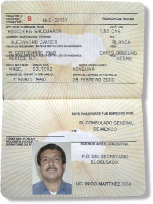 Mexican Passport Replica